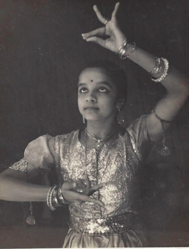 Lakshmiji as a dancer